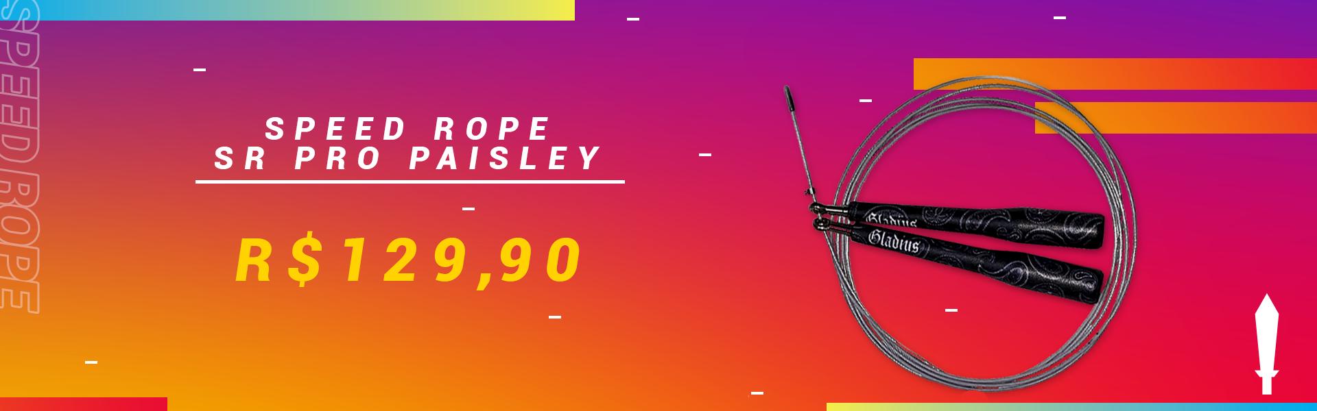 Speed Rope Paisley Promo